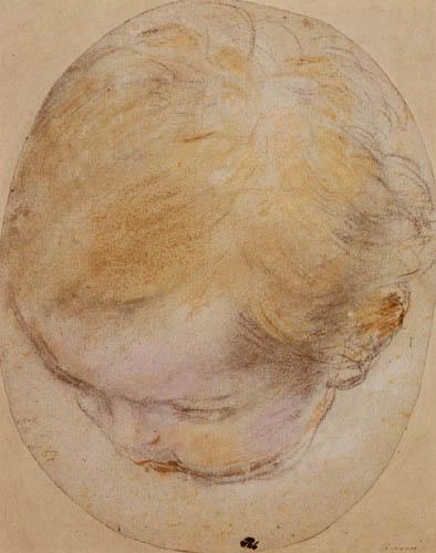 Federigo Barocci - Puttenkopf