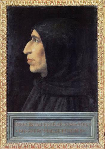 Fra Bartolommeo (di Pagholo del Fattorino) - Girolamo Savonarola
