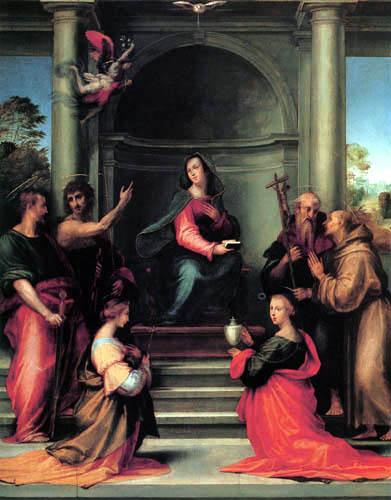 Fra Bartolommeo (di Pagholo del Fattorino) - Annunciation