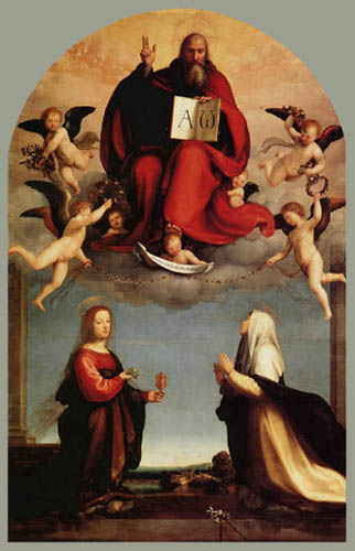 Fra Bartolommeo (di Pagholo del Fattorino) - God the Father with Saints