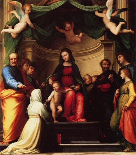 Fra Bartolommeo (di Pagholo del Fattorino) - Verlobung der hl. Katharina