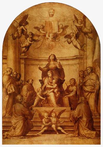 Fra Bartolommeo (di Pagholo del Fattorino) - Altar of St. Anne