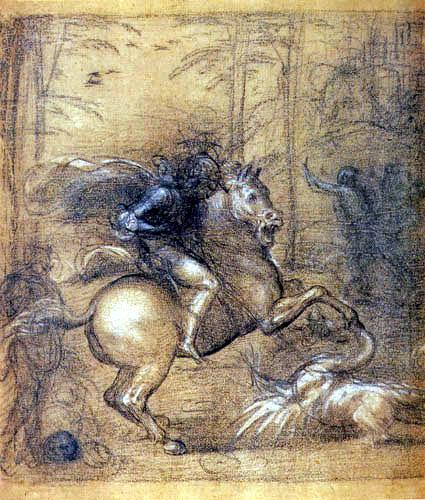 Fra Bartolommeo (di Pagholo del Fattorino) - Saint George and the Dragon