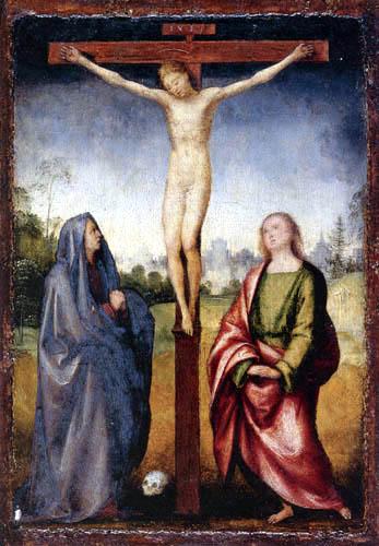 Fra Bartolommeo (di Pagholo del Fattorino) - Crucifixion
