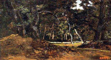 Antoine-Lois Barye - Forest Landscape