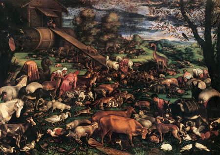 Jacopo Bassano - Die Arche Noah