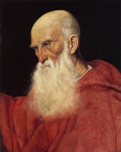 Jacopo Bassano - Bildnis eines Kardinals