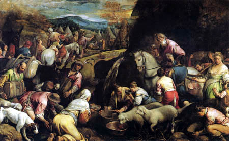 Jacopo Bassano - Miracles of Jesus - Turning Water into Wine