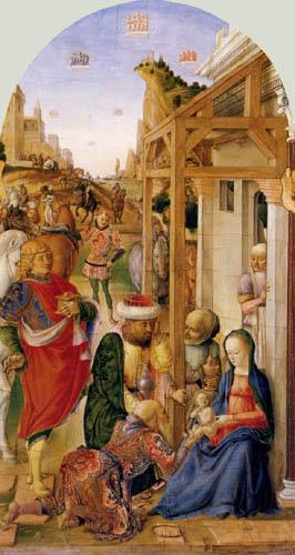 Lazzaro Bastiani - The Adoration of the Magi