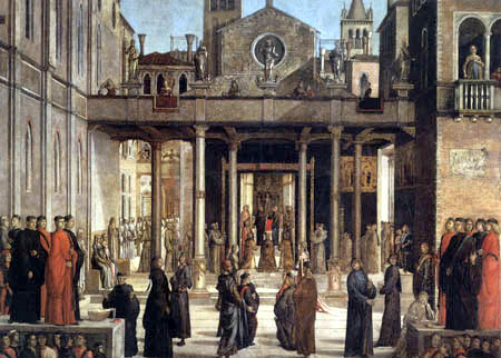 Lazzaro Bastiani - The transfer of the relics