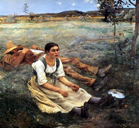 Jules Bastien-Lepage - Hay Harvest
