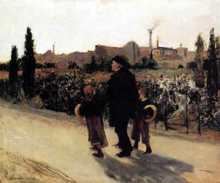 Jules Bastien-Lepage - Fête des morts, Commémoration des fidèles défunts