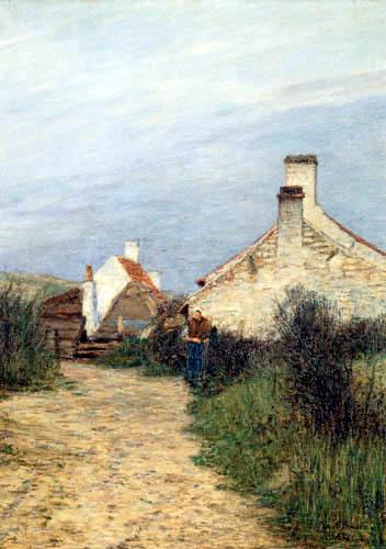 Paul Baum - Flemish houses