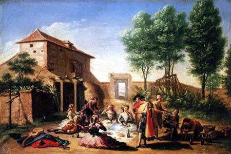 Francisco Bayeu y Subías - Picnic in the Country