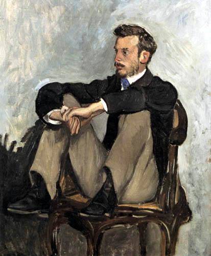 Jean-Frédéric Bazille - Bildnis Auguste Renoir