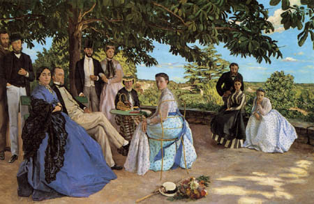 Jean-Frédéric Bazille - Portrait de une Famille