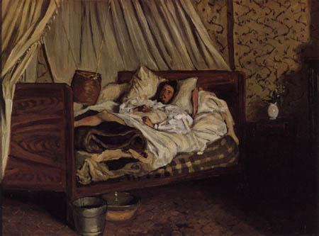 Jean-Frédéric Bazille - At the bedside