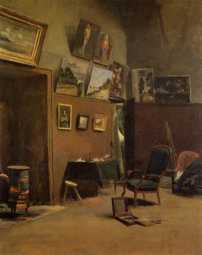 Jean-Frédéric Bazille - Das Atelier