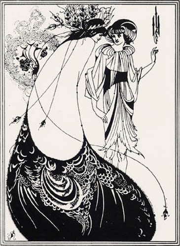 Aubrey Vincent Beardsley - The Peacock Skirt