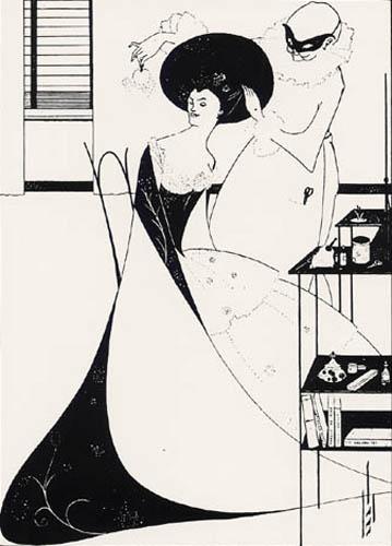 Aubrey Vincent Beardsley - The Toilet of Salomé