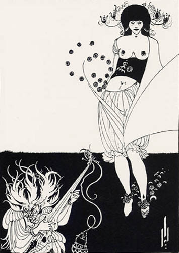 Aubrey Vincent Beardsley - The Stomach Dance