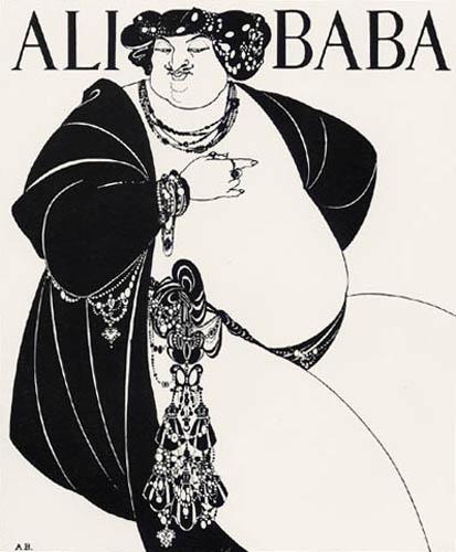 Aubrey Vincent Beardsley - Ali Baba