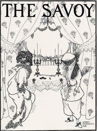 Aubrey Vincent Beardsley - The Savoy, Titelseite