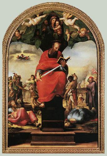 Domenico Beccafumi (il Mecarino, di Giacomo di Pace) - Hl. Paulus
