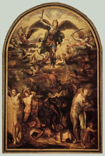 Domenico Beccafumi (il Mecarino, di Giacomo di Pace) - The Fall of the Rebel Angels