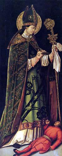 Leonhard Beck - Saint Valentine