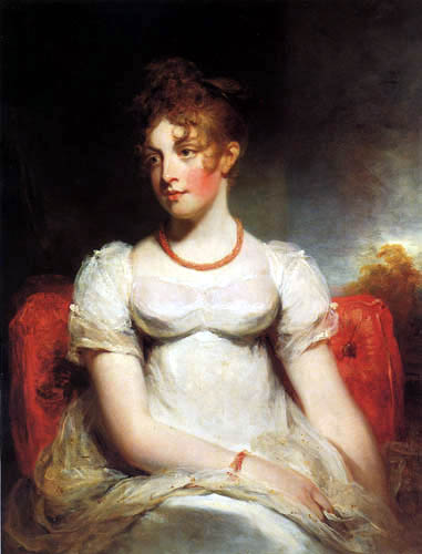 Sir William Beechey, R.A. - Portait of Frances Elizabeth Addington