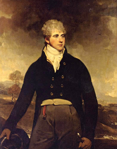 Sir William Beechey, R.A. - Portait of a Young Man