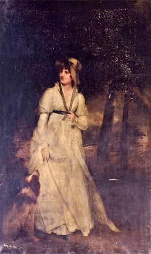 Sir William Beechey, R.A. - Porträt von Mrs. Hatfield