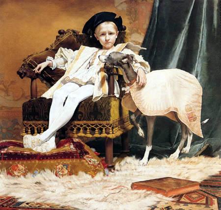 Jan van Beers - Charles V as a Child