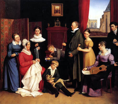 Carl Joseph Begas - The Family of the Artist