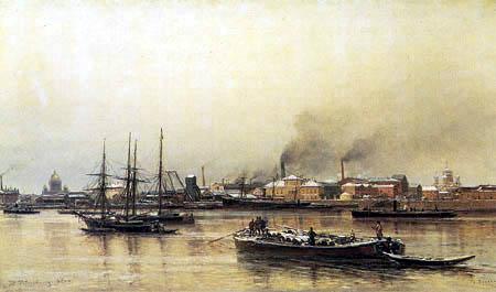 Aleksandr Karlovich Beggrov - Neva Quay