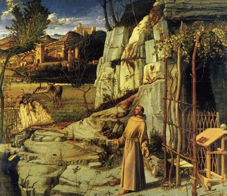 Giovanni Bellini (Giambellino) - St. Francis in the Desert