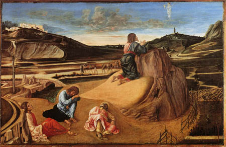Giovanni Bellini (Giambellino) - Todesangst Christi am Ölberg