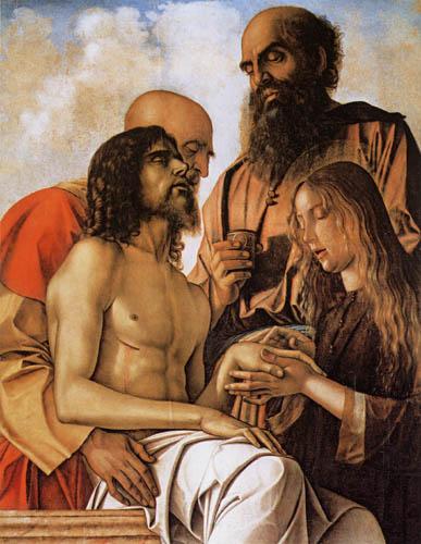 Giovanni Bellini (Giambellino) - Die Beweinung Christi
