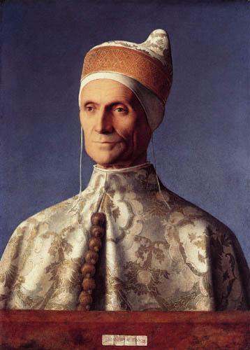 Giovanni Bellini (Giambellino) - Portrait of Leonardo Loredan