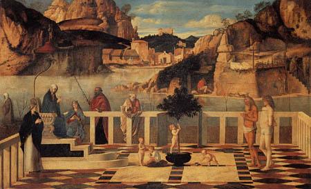 Giovanni Bellini (Giambellino) - Saint Allegory