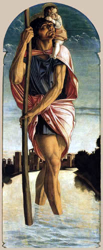 Giovanni Bellini (Giambellino) - San Cristóbal