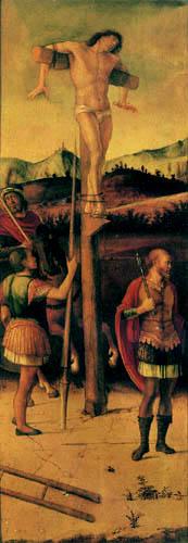 Giovanni Bellini (Giambellino) - The two thieves, left