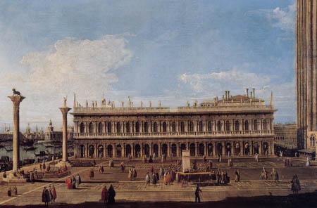 Bernardo Bellotto, Belotto (Canaletto) - Piazetta di San Marco, Venice