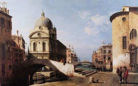 Bernardo Bellotto, Belotto (Canaletto) - Santa Maria dei Miracoli, Venedig