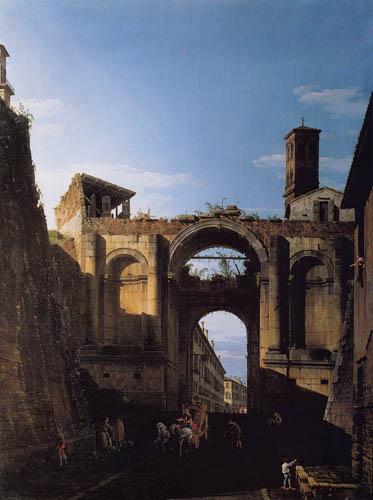 Bernardo Bellotto, Belotto (Canaletto) - Santo Spirito, Roma