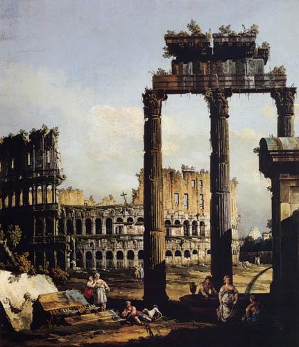 Bernardo Bellotto, Belotto (Canaletto) - Kolosseum