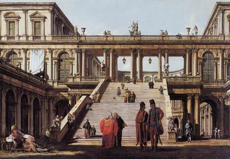 Bernardo Bellotto, Belotto (Canaletto) - Palastwache
