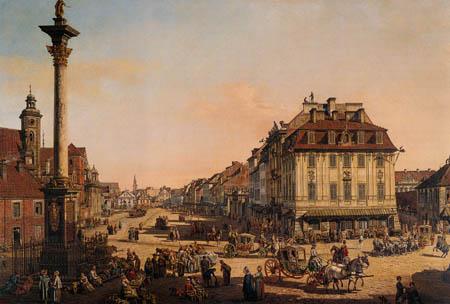 Bernardo Bellotto, Belotto (Canaletto) - Krakowskie Przedmiescie, Warsaw