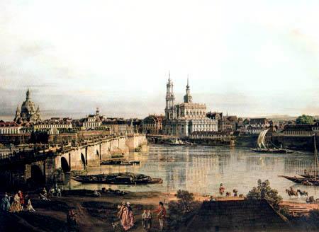 Bernardo Bellotto, Belotto (Canaletto) - Dresden Neustadt
